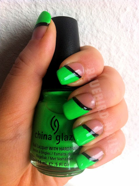 china glaze poolside kiwi-coolada