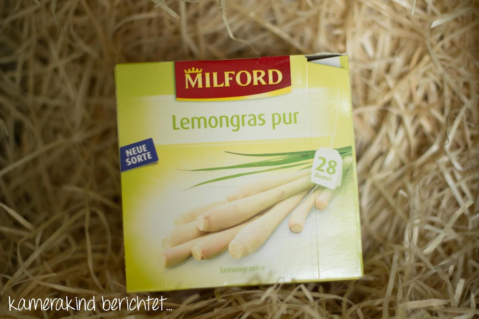 Milford Tee Lemongras pur