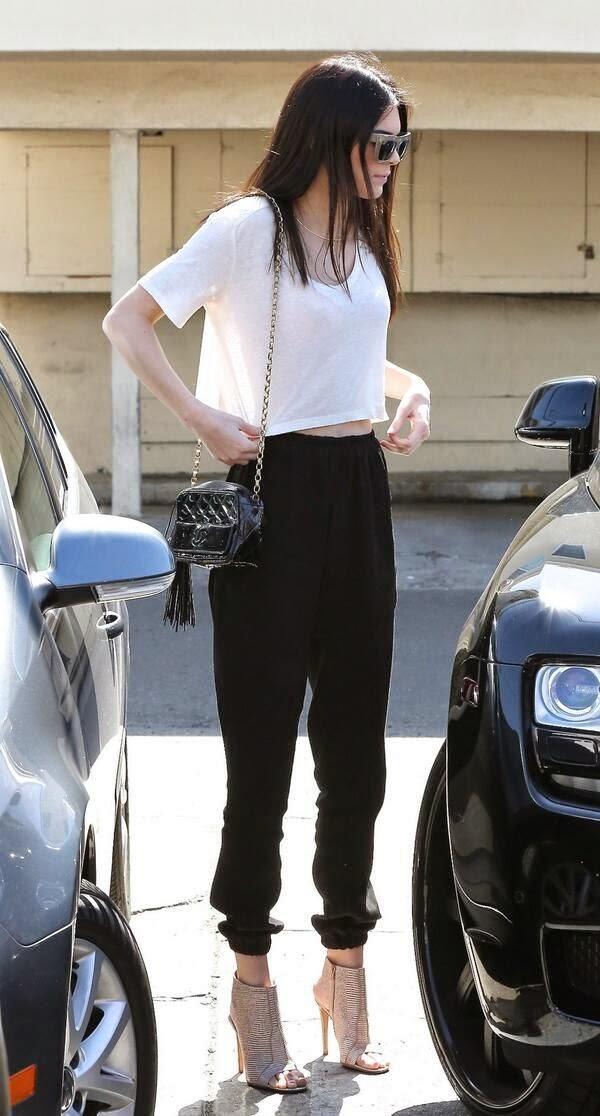 การแต่งตัวผู้หญิงเก๋ๆ แฟชั่นไอคอน Kendall Jenner style เคนดัล เจนเนอร์