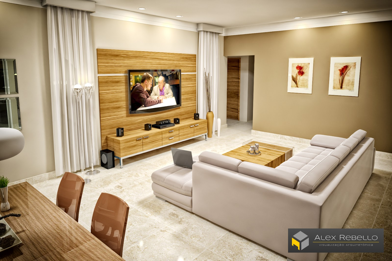 Sala De Estar E Tv ~ Sala De Jantar E Estar Conjugadas Decoradas Hd Wallpapers Pictures