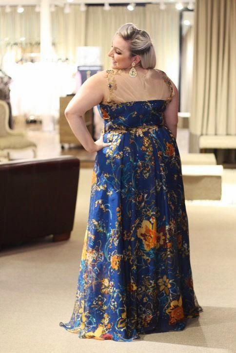 vestido de festa madrinha plus size