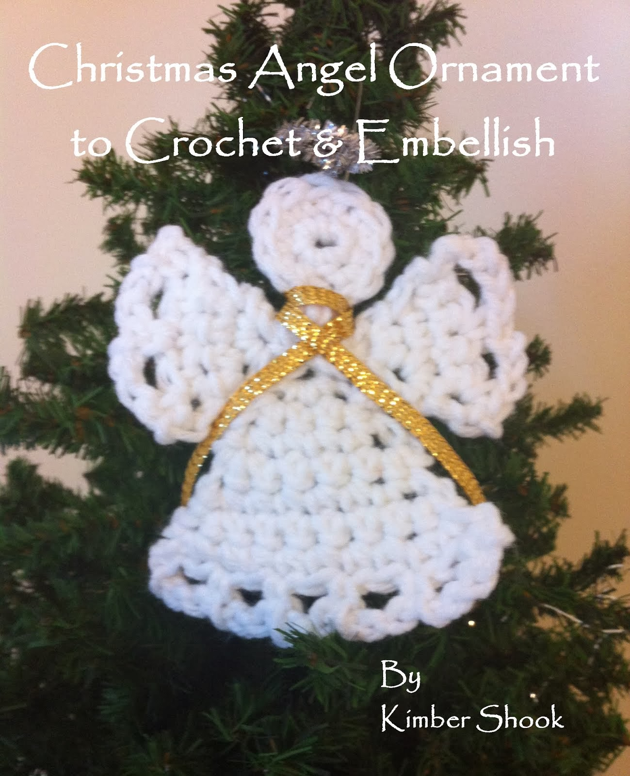 Angel Ornament Crochet Pattern
