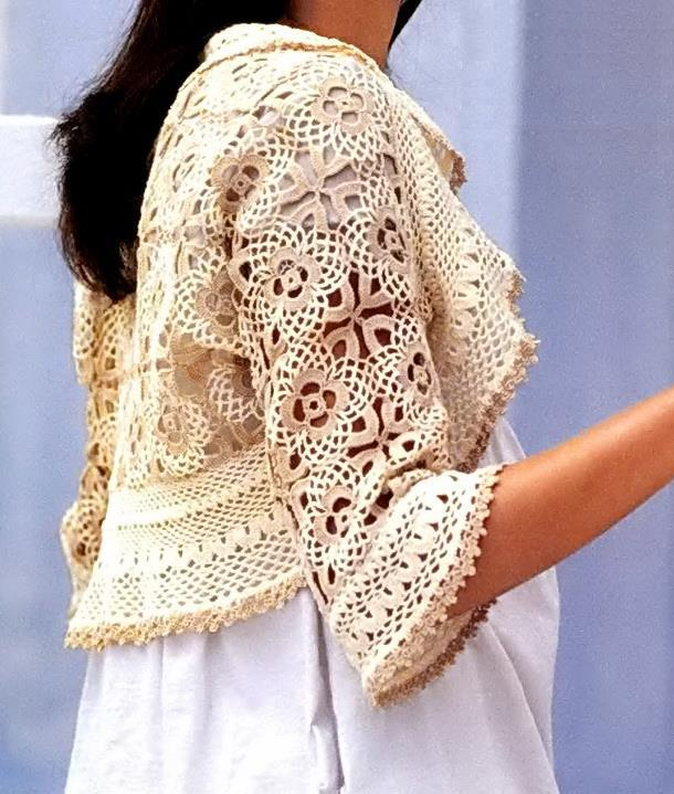 Free Crochet Patterns Ladies Jumpers : Crochet Sweaters: Crochet Free Pattern Of Wonderful Shrug ...