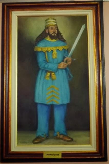 quadro de Zoroastro ou Zaratustra