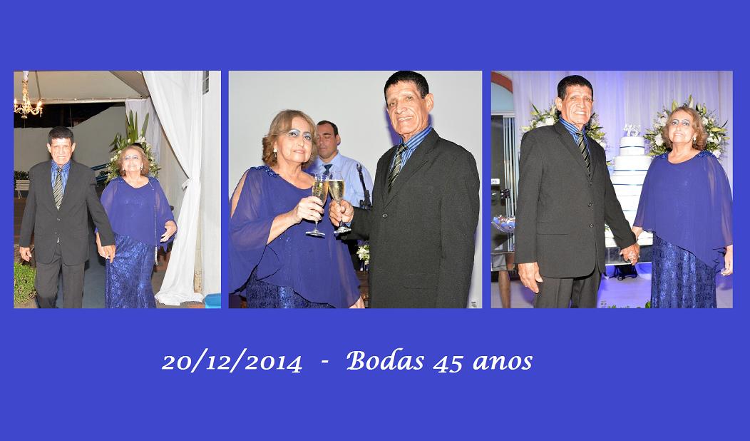 Bodas Safira 45 anos