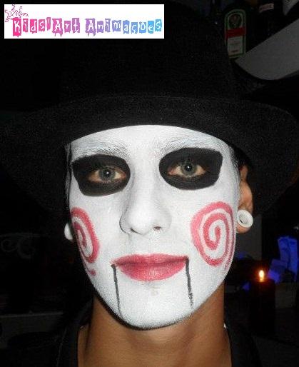 pintura facial adultos carnaval u halloween