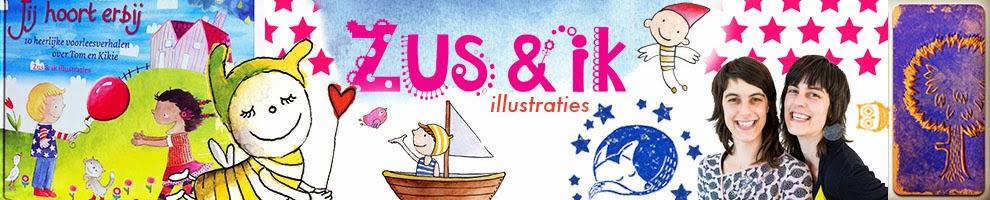 Zus en ik illustraties
