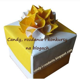 Candy,rozdania i konkursy na blogach