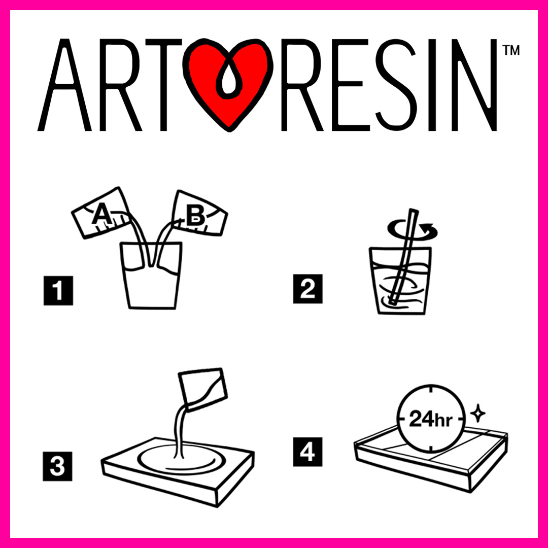 I use and recommend Art Resin!