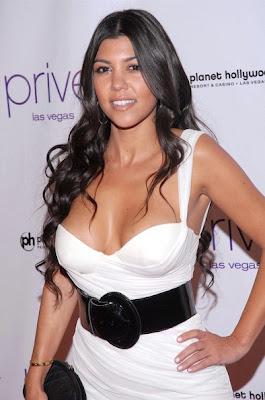 Kourtney Kardashian vestido fashion