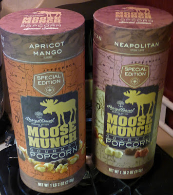 Apricot Mango and Neapolitan Moose Munch