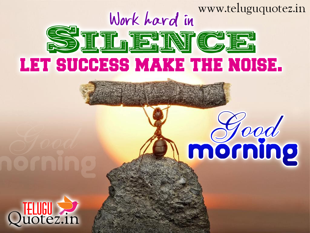 Morning Life Quotes Working In The Morning Quote  Inspiring Quotes And Words In Life
