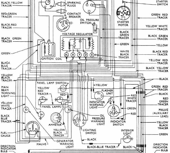 Complete Wiring Diagrams Of 1953-1957 Ford Anglia | All ...