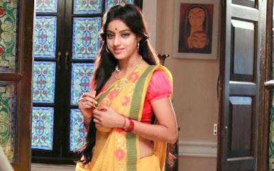 Sandhya in Kolkata Saree Look - Diya Aur Bati Hum