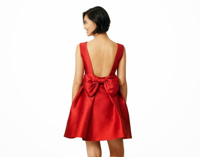 Kate Spade Dynasty Red Dress