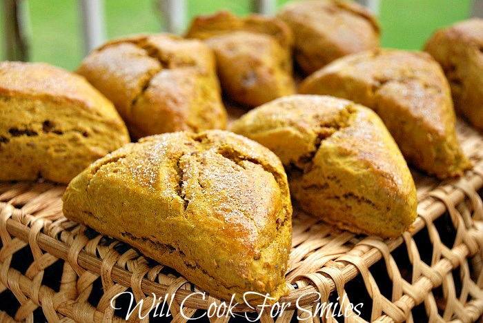 Pumpkin Scones - Will Cook For Smiles