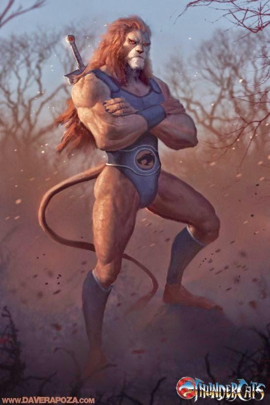 Dave Rapoza deviantart ilustrações personagens desenhos animados anos 80 versões realistas tartarugas ninja he-man thundercats
