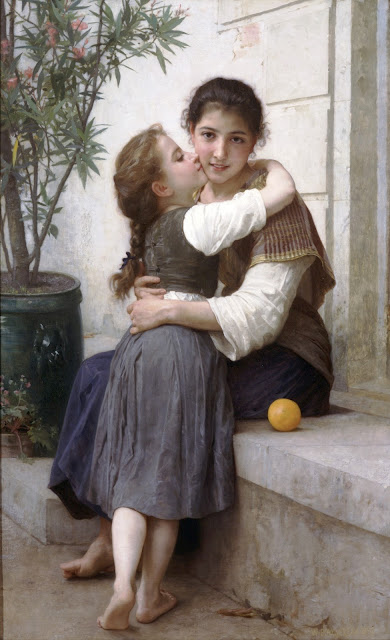 genre painting,William Adolphe Bouguereau, Bouguereau