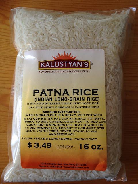 how to cook patna rice