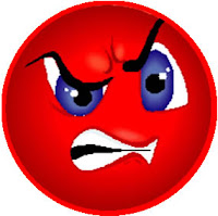 angry face emoticon facebook - photo #13
