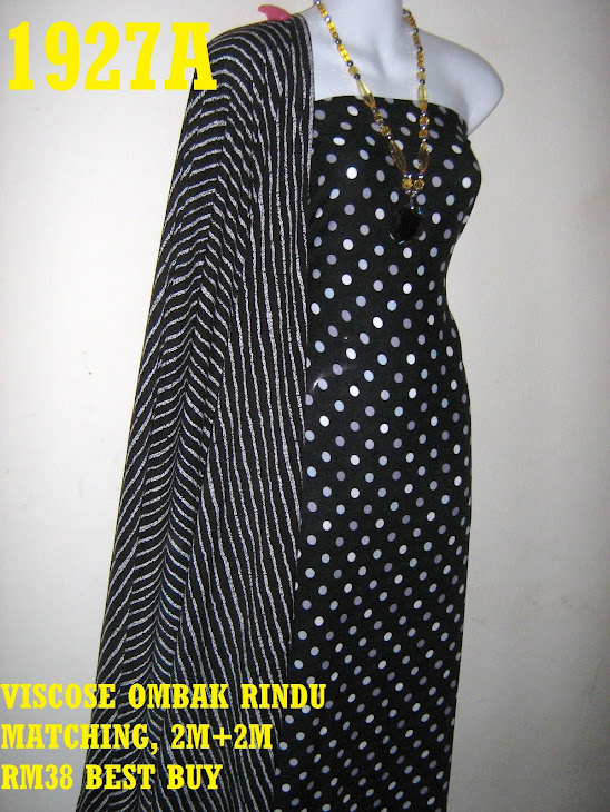 VOM 1927A: VISCOSE OMBAK RINDU MATCHING BY KUSHI, 2M+2M