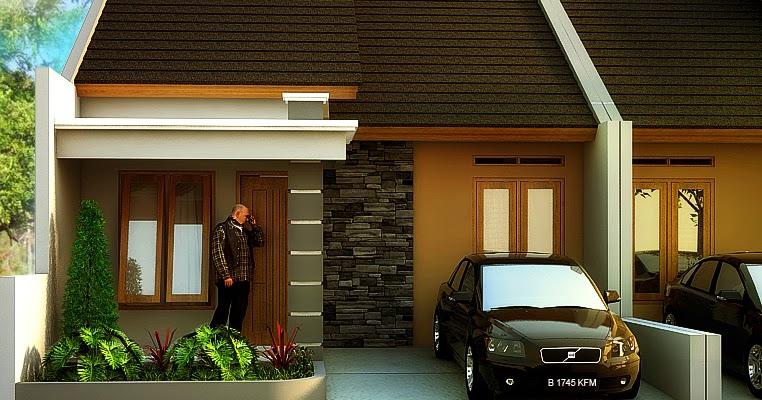 gambar rumah type 36 90 model rumah modern