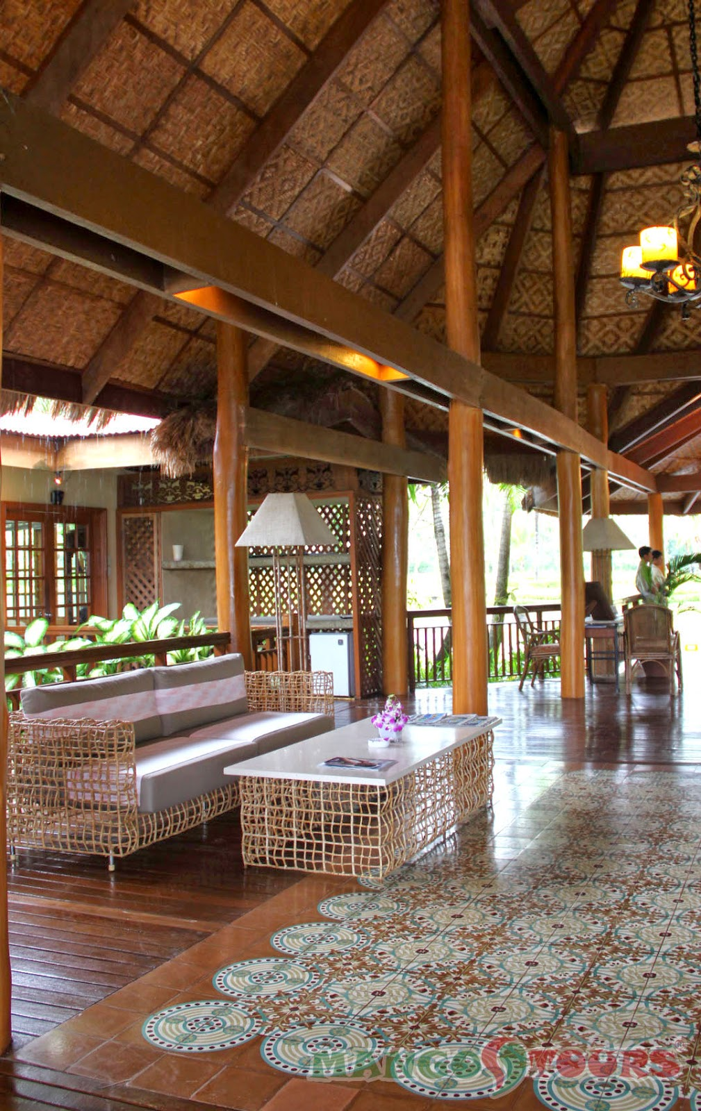 Mango Tours Philippines Alegre Beach Resort & Spa Lobby