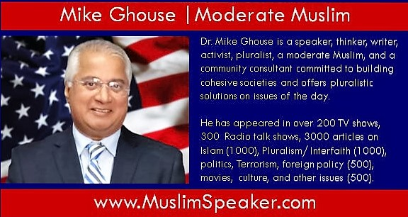 Moderate Muslim Speaker