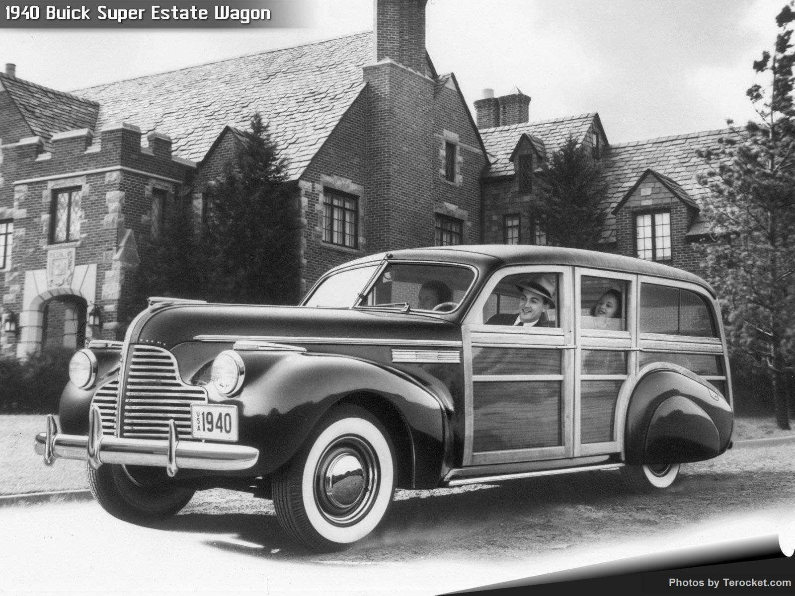 Hình ảnh xe ô tô Buick Super Estate Wagon 1940 & nội ngoại thất