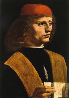 Retrato de um Músico, por Leonardo da Vinci