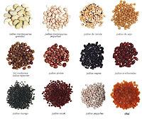 variedades de alubia, fabes, caparron, judia, alubias pintas
