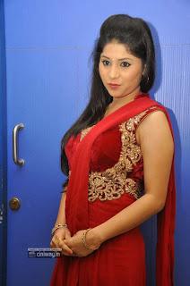 Actress-Jiya-Khan-Stills-at-Anandam-Malli-Modalaindi-Audio-Launch
