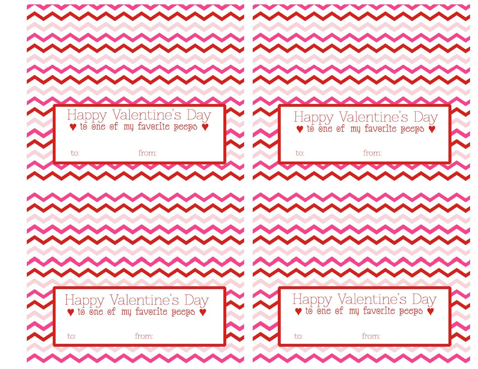 the larson lingo  valentine u0026 39 s peeps  free printable