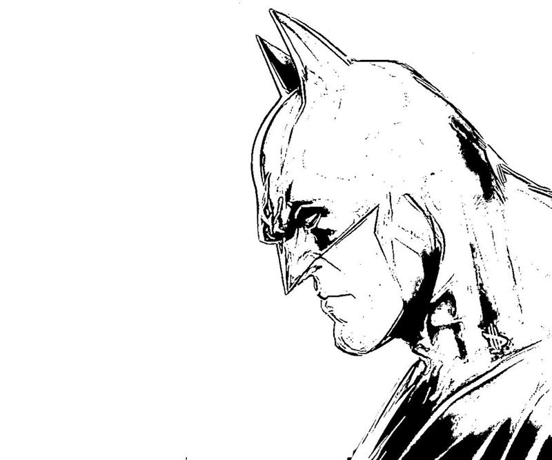 batman arkham city batman   harley quinn yumiko fujiwara Batman The Dark Knight Coloring Pages  Batman Arkham City Coloring Pages