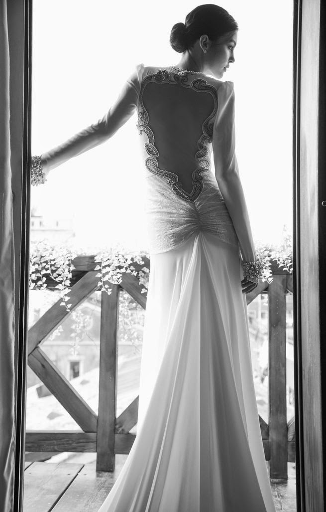 Inbal dror wedding dresses 2015 venice collection for Israeli wedding dress designer inbal dror