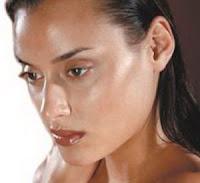 oily face skin