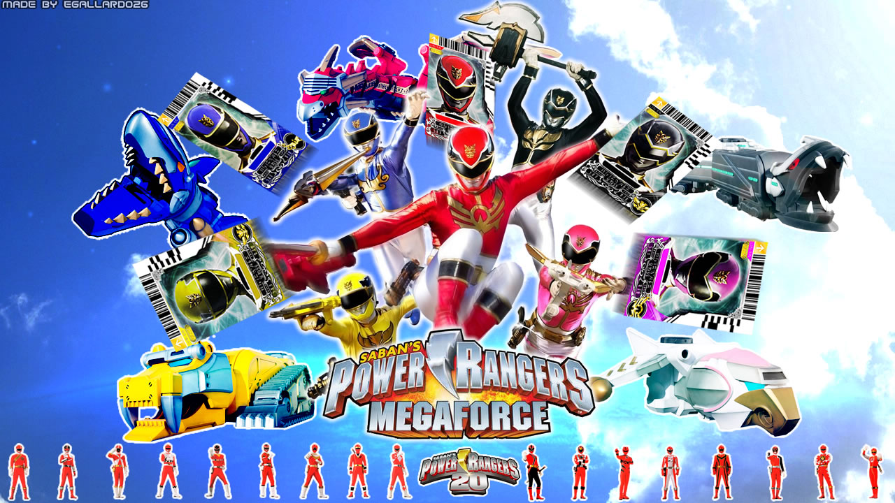 Power Rangers Megaforce Official Teasers [Updated]