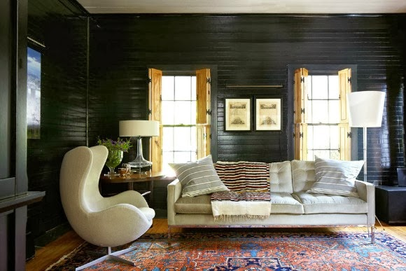 Feminine Rustic Living Room