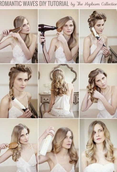 Romantic Waves Step by Step Hair Style Turorials