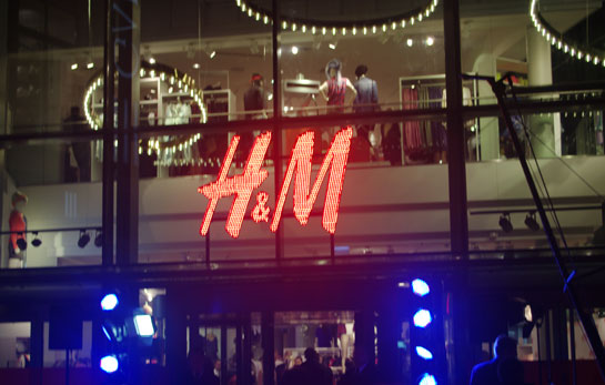 H&M in Latvia
