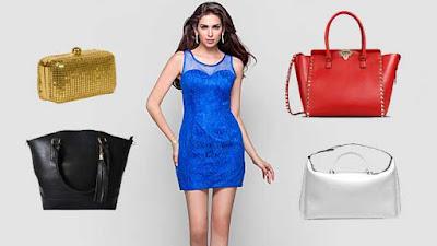 Vestido azul, que accesorios utilizar