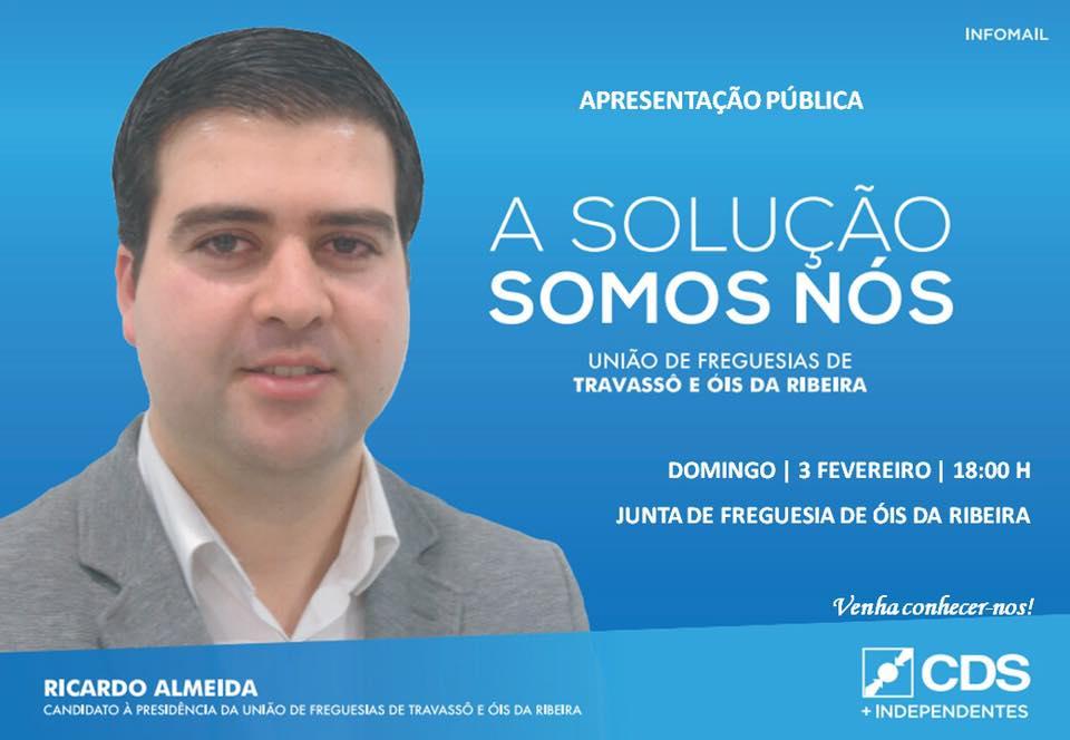 CDS das Eleições Intercalares 2019 apresenta-se em Óis da Ribeira