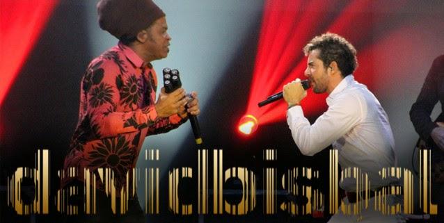 Primer concierto en Brasil de DAVID BISBAL con CARLINHOS BROWN como artista invitado