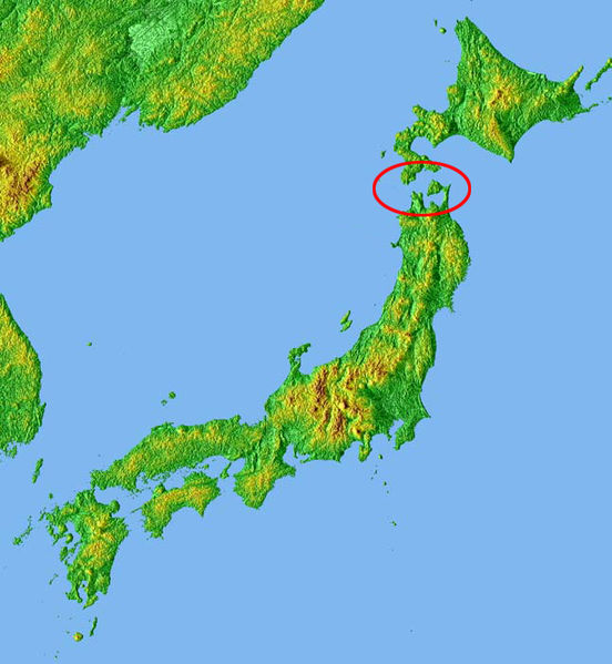 Location of Seikan Tunnel: Fabulous World
