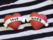 . share a little diy on how to make your very own Love Hate brooches. love and hate brooches
