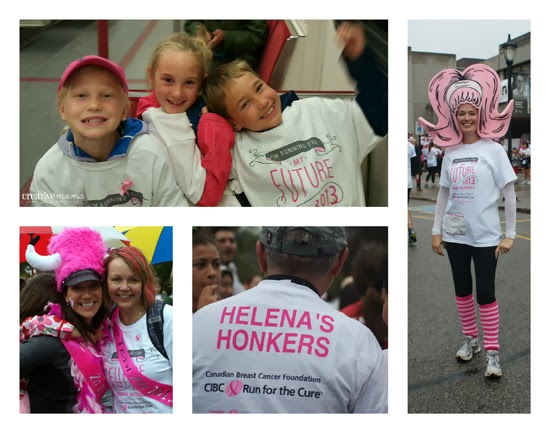 CIBC Run for the Cure - Team Names and Costumes