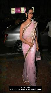 Manisha Koirala in Transparent saree