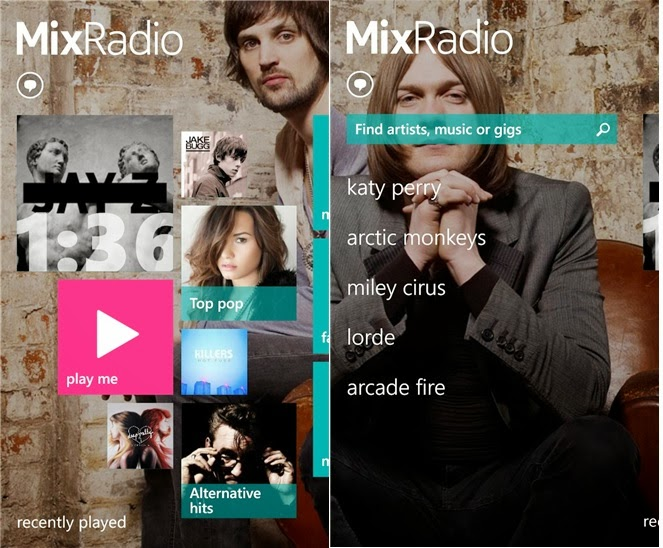 Review: Nokia MixRadio Humbling Collected Rank by Nokia Music Store