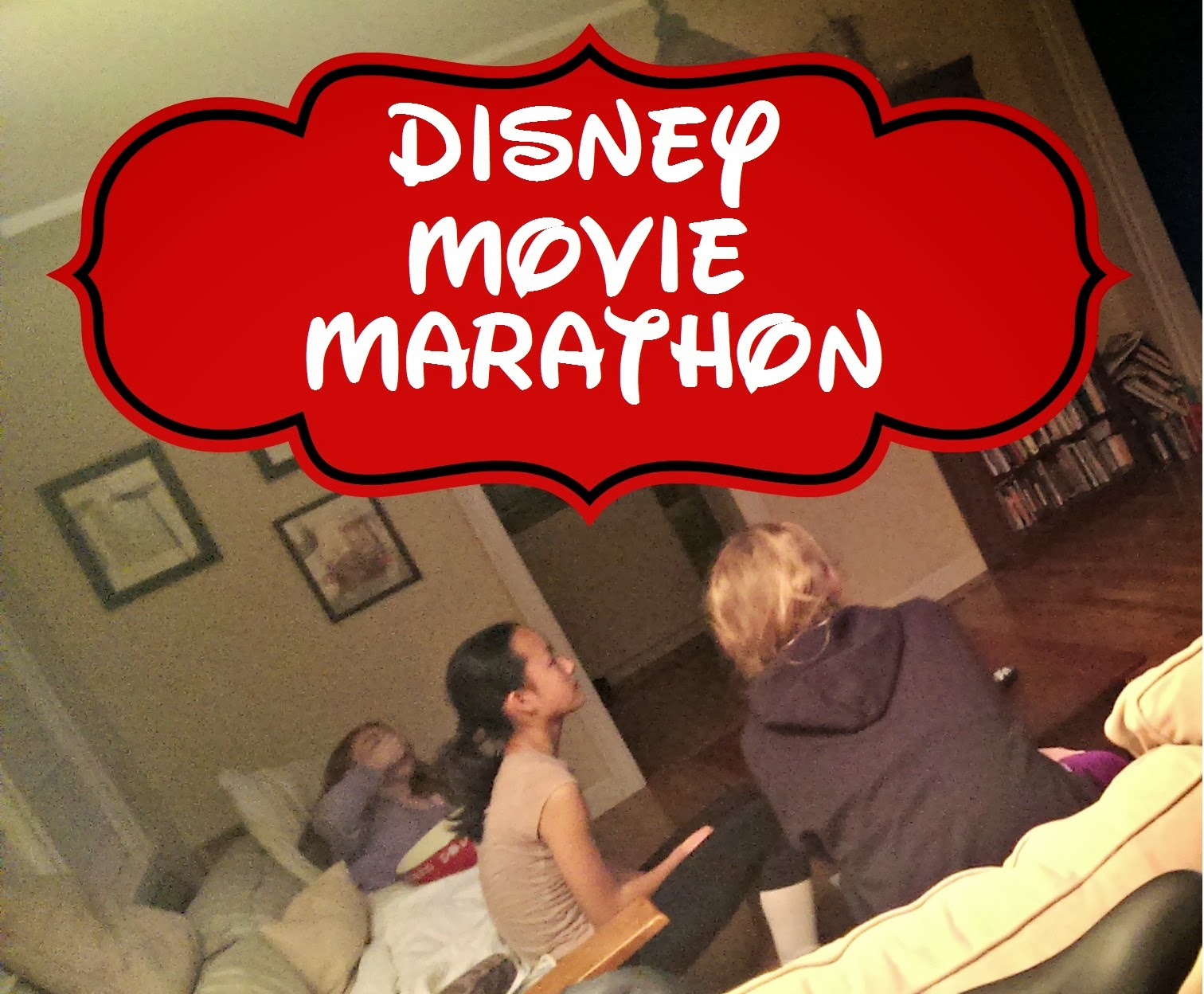 #DisneySide @Home celebration: Disney movie marathon