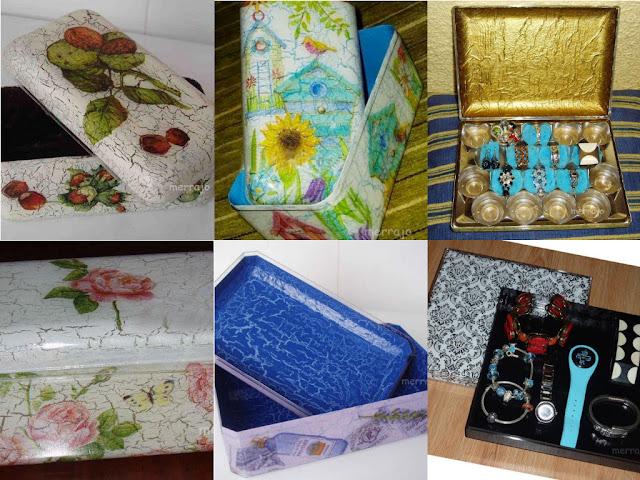 http://merrajo.blogspot.com.es/2016/01/cajas-de-plastico-decoradas.html